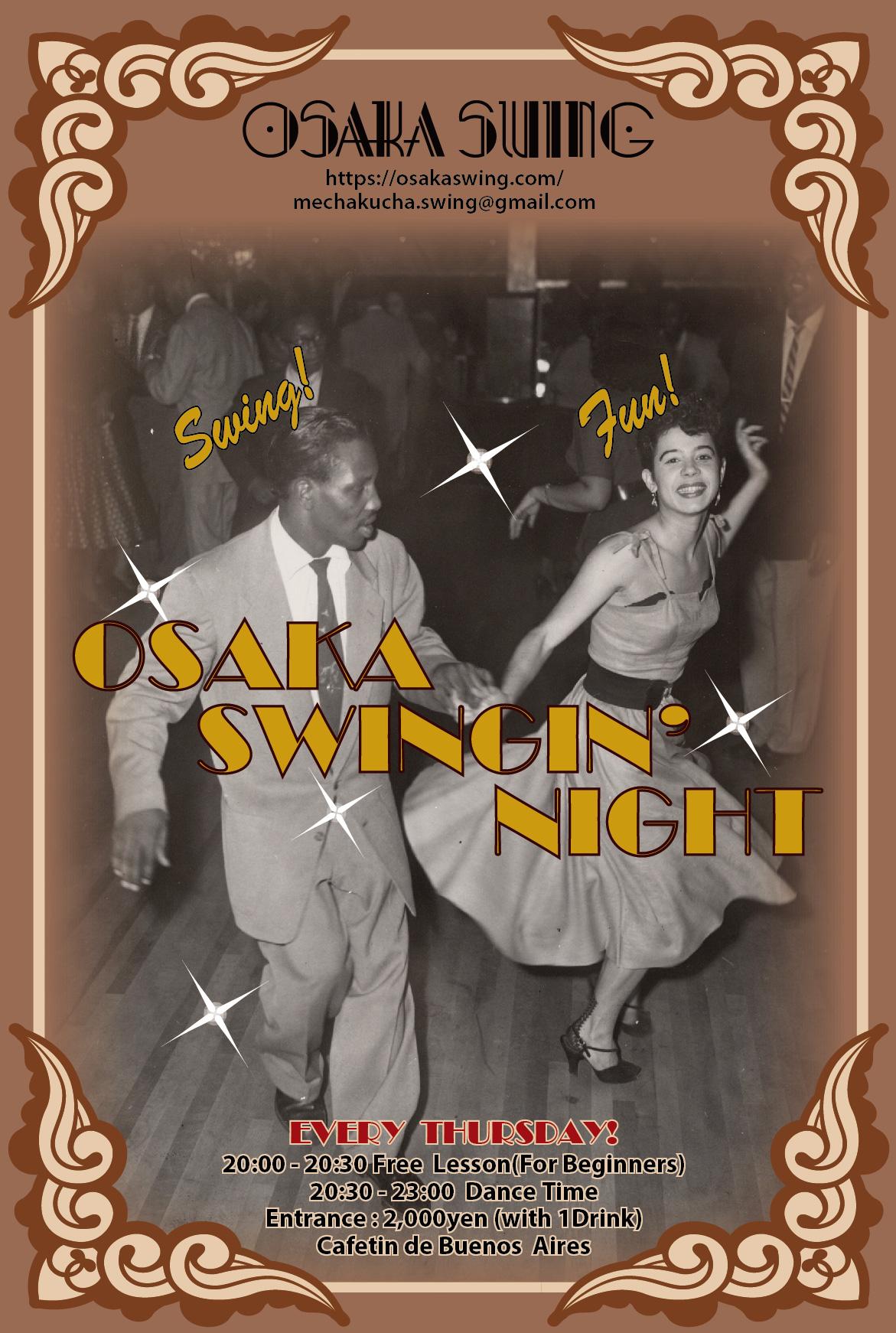 OSAKA SWINGIN' NIGHT @ Cafetin de Buenos Aires